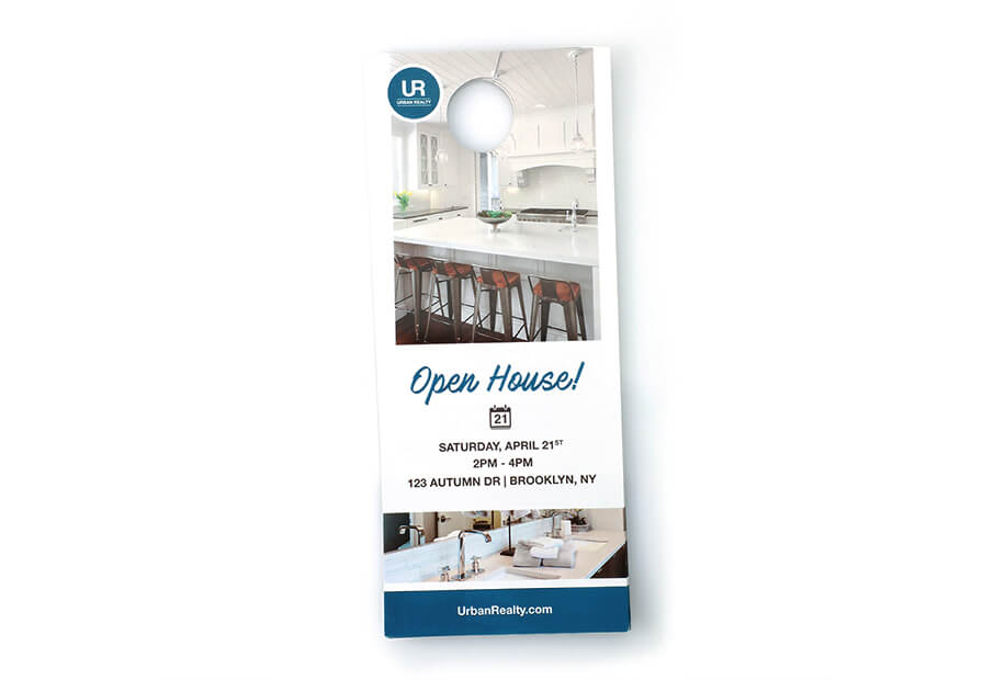 Marvelous 100LB Gloss Book. Economy Door Hangers ...